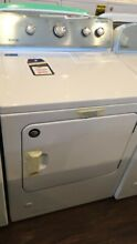 New Open Box Maytag 7 0 Cu  Ft  White Front Load Gas Dyer MGDC465HW