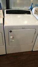 New Open Box Whirlpool Cabrio Front Load Electric Dryer White WED7000DW SD