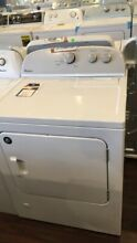 New Open Box Whirlpool 7 0 cu ft Top Load Gas Dryer with AutoDry  WGD4815EW