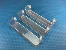 Genuine Kenmore Refrigerator Door Basket MAN63109301 Set of 3