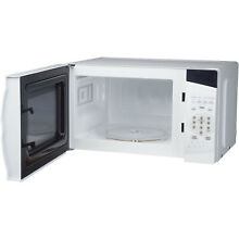 Magic Chef 0 7 Cu  Ft  700W Countertop Microwave Oven in White