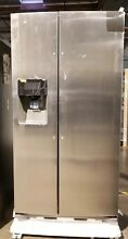 Samsung RS25J500DSR 24 5 cu  ft  Side by Side Refrigerator  NEW Open box