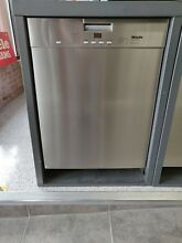 Miele Stainless Steel Recessed Handle Dishwasher G4228SCUAM
