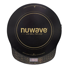 NuWave Platinum 30401 Precision Induction Cooktop  Black with Remote and for