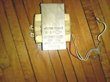 GE Advantium microwave high voltage transformer WB27X10393