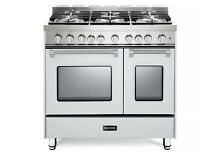 Verona Prestige VPFSGG365DW 36  All Gas Range Double Oven 5 Burner True White
