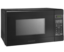New 0 7 Cu  Ft Compact Microwave Oven Small Office Kitchen Dorm C
