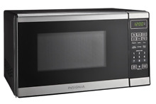 New 0 7 Cu  Ft Compact Microwave Oven Small Kitchen Countertop Dorm Office 700 W