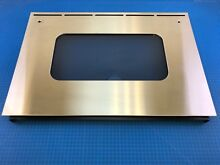 Genuine GE Range Oven Outer Door Panel Glass Assembly WB55T10150