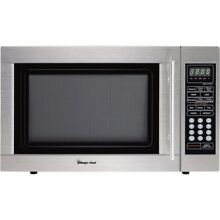 MAGIC CHEF MCD1310ST 1 3 cu Ft Microwave Oven SS