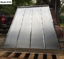 Stainless Vent Hood  Range Fan Incl  Custom Sizes All Metals avai   Model  153