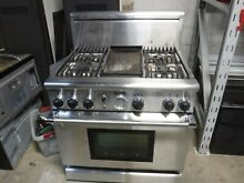 Thermador 30  PG364BS Pro Grand Gas Range Oven 4 Burner Stainless Steel