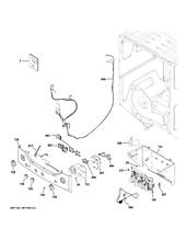 New OEM GE Washer Dryer Combo Ui board ge Parts   WE04X27284