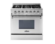 36  DUAL FUEL RANGE THOR KITCHEN 6 BURNER 5 2 Cu Ft Oven