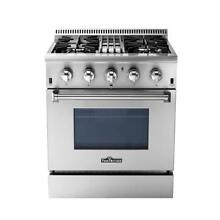 THOR KITCHEN 30  DUAL FUEL RANGE
