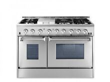 48  Dual Fuel Range THOR KITCHEN 6 Burner With Double Oven and Griddle