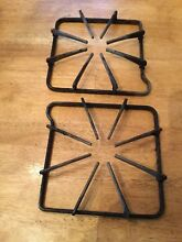 MAYTAG Square Gas Range Burner GRATE Stove Top Oven 2 CAST IRON 8 5  X 8 5
