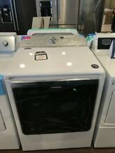 New Open Box Maytag Electric Front Load Dryer  MEDB835DW SD