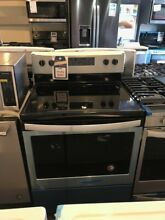 New Open Box Whirlpool 30  Electric Range   WFE505W0HS
