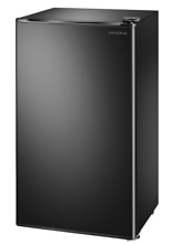 New Black 3 3 Cu  Ft  Mini Fridge Compact Small Refrigerator Office Dorm Cooler