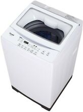 Panda 1 60 cu  ft White Compact Top Load Washer Machine Stainless Steel Tub
