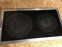 Jenn Air Cartridge Black Glass Cooktop Burner 87946 87847 88946 4 Blade Used