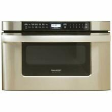 KB 6524PS Microwave Ovens 24 Inch Drawer Oven  Stainless Steel Appliances