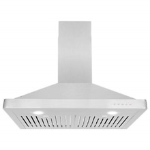 Cosmo 63175 30 in Wall Mount Range Hood 760 CFM Ductless Convertible Duct Over 3