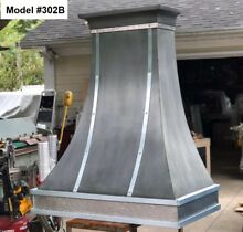 Zinc Range Hood for Wolf Range  Motor Incl  Custom Sizes Available   Model  302B