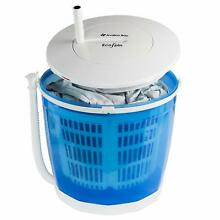 Portable Hand Cranked Manual Clothes Non Electric Washing Machine and Spin Dryer