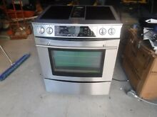 Jenn air downdraft range jes9860bas stainless with glass cartridges and grill un
