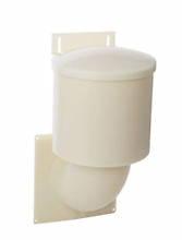 Heartland Natural Energy Saving Dryer Vent Closure   Outside Dryer Vent Cover to