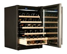 HAIER Wine Cooler 48 Bottle WC200GS NIB New Dual Zoned new in the box