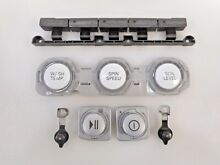 LG Washer   Dryer Control Panel Push Buttons Set AGL32761658