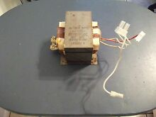 Kenmore Microwave High Voltage Transformer Part Numbers 1349779 6170W1D050C