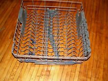Kenmore Whirlpool dishwasher upper rack w  wheels W10350380   complete