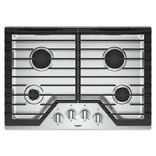 Whirlpool WCG55US0HS 30 Inch Stainless Steel Gas Cooktop