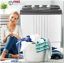 Portable Washer Dryer All In One Combo Compact Machine RV Apartment Size Top NEW