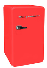 New Red 3 2 Cu  Ft  Retro Mini Fridge Compact Refrigerators Dorm Office Freezer