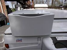 Kenmore Whirlpool 15 inch White Pedestal Washer Dryer XHP1550VW0