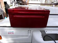 ONE  1  LG WDP3R g 27  Washer Dryer Pedestal Red LG WITH HARDWARE