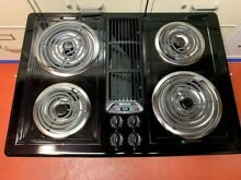 30  Jenn Air Electric Cooktop  Downdraft   New Condition
