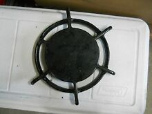 Cast Iron Simmer Grate   Vintage O Keefe Merritt 1940 s Gas Stove Round   1 pair