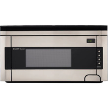 Sharp R1514T 1 5 Cu  Ft  1000W Over the Range Microwave Oven with Concealed Cont