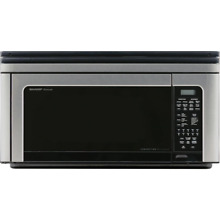 Sharp R1881LSY 1 1 Cu  Ft  850W Over the Range Convection Microwave Oven in Stai