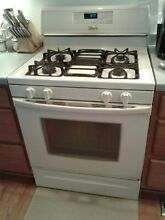 Whirlpool 30 inch LP gas stove   LOCAL PICK UP ONLY