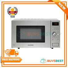 Daewoo 28 Litre Microwave Convect Oven with Grill 1250 W  Silver KOC9C5TR