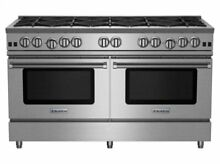Blue Star 60  RNB Series Stainless Steel Gas Range  10 Burners