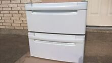 LG  2   pedestals white for washer and dryer