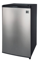 New 3 2 Cu Ft Mini Fridge Compact Refrigerator Freezer Single Door Dorm Office